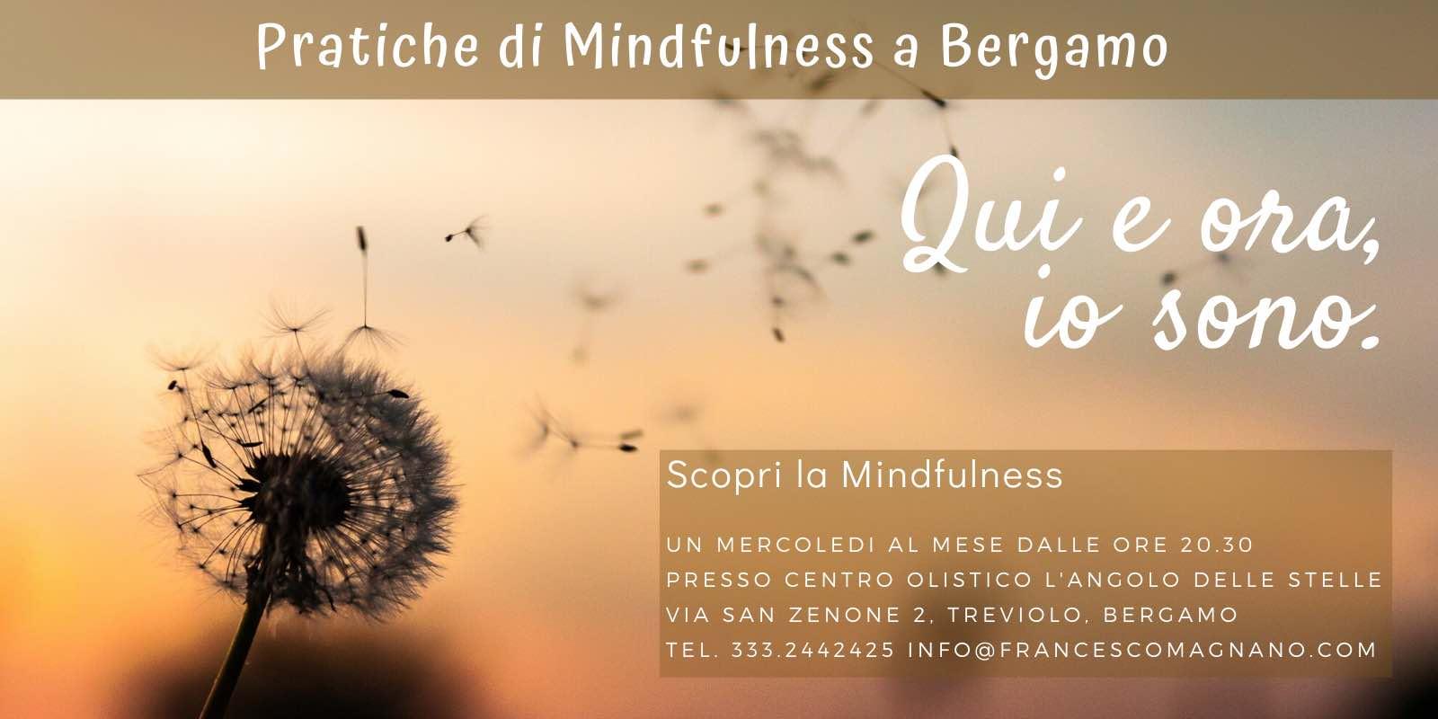pratiche di mindfulness a bergamo 2020